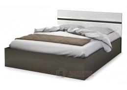 VEGAS, postel 160x200cm, wenge / bíláý lesk