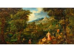 D-6555 Gillis van Coninxloo - Latona a Lycian v krajině