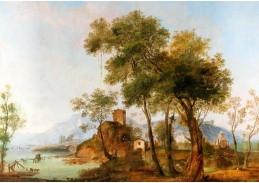 D-9406 Giuseppe Bernardino Bison - Říční krajina