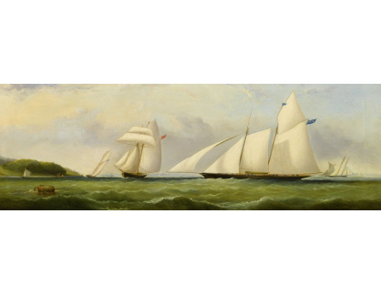 VP354 Arthur Wellington Fowles - Jachta u ostrova Wight