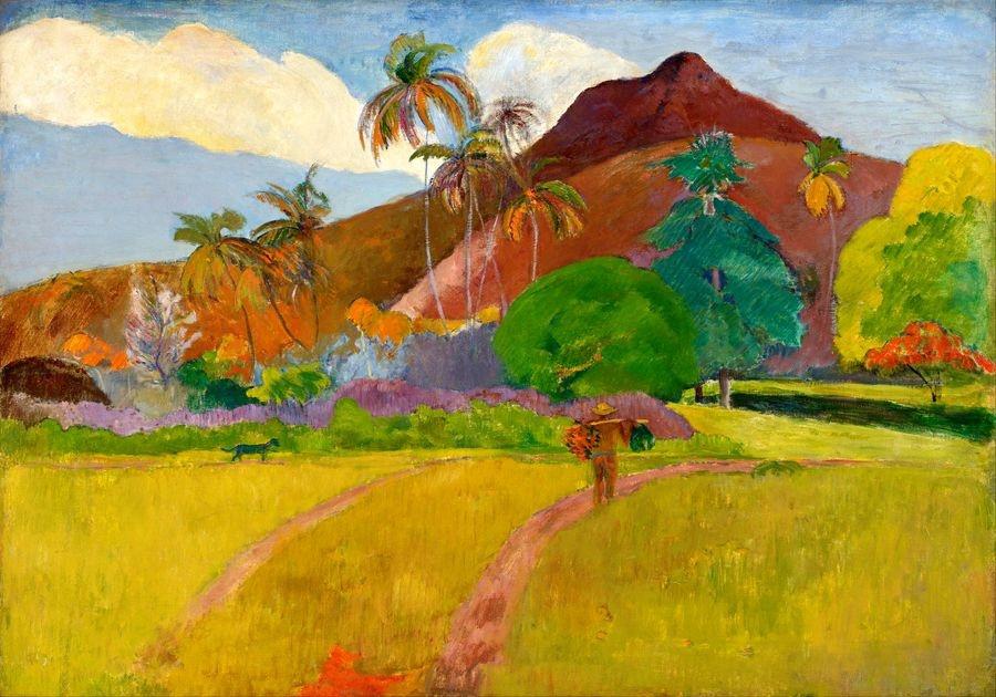R9-5 Paul Gauguin - Hory na Tahiti