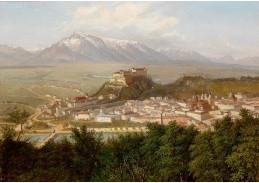DDSO-1500 Alois Tott - Pohled na Salzburg
