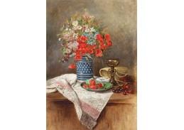 Krásné obrazy II-96 Jan von Rotky - Kytice letních květin