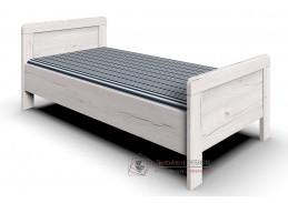 MARGITA 299, postel 90x200, dub bílý