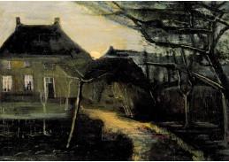 DDSO-4293 Vincent van Gogh - Fara v Nuenen za soumraku