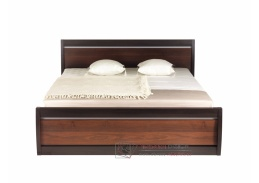 FORREST, postel FR 19 - 160 ořech tmavý / dub miláno