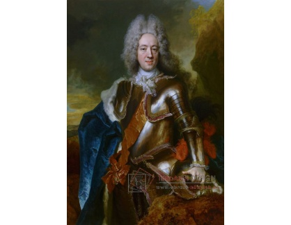 PORT-436 Nicolas de Largilliere - Portrét Willema Hyacintha