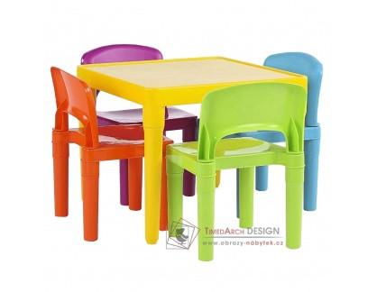 ZILBO, dětský set 1+4, vícebarevný