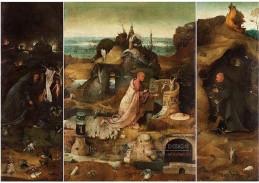 D-6324 Hieronymus Bosch - Triptych svatých