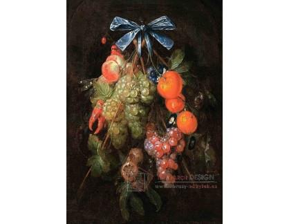 VH621 Cornelis de Heem - Svazek ovoce a květin