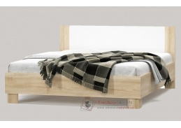 MARKOS, postel 180x200cm, dub sonoma / bílá