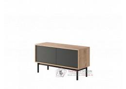 BERGEN, televizní stolek BRTV104, dub jaskson hickory / grafit