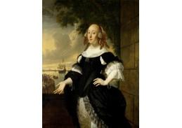 DDSO-2356 Bartholomeus van der Helst - Portrét  Geertruidy den Dubbelde