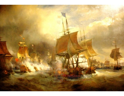 VF132 Theodore Gudin - Bitva u Ushant