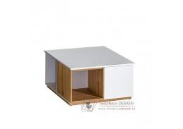 KNOX, konferenční stolek E13, ořech select / bílá