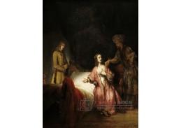 D-8281 Rembrandt - Joseph obviněn Potipharovou manželkou