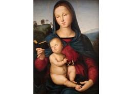 R11-124 Rafael Santi - Madonna s děťátkem
