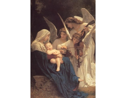 R15-17 Adolph William Bouguereau - Píseň andělů