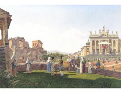 VALT 26 Jacob Alt - Bazilika St. John Lateran v Římě