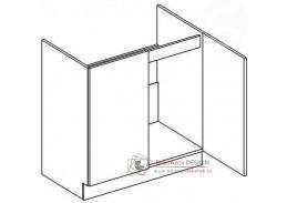 NORA, dolní skříňka 2-dveřová pod dřez D80ZL, hruška