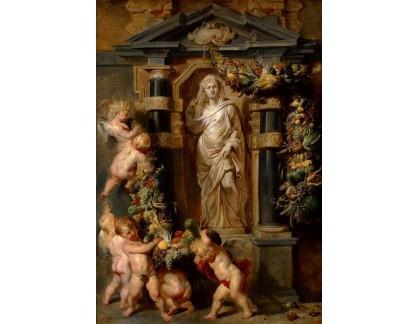 VRU90 Peter Paul Rubens - Socha Ceres