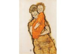 VES 108 Egon Schiele - Matka a dítě