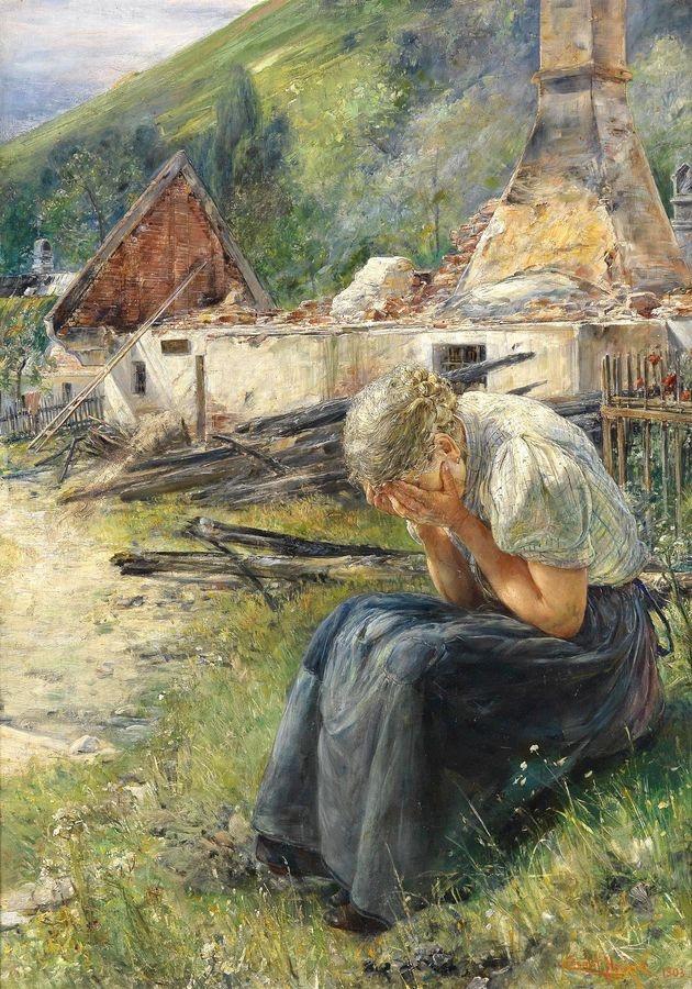 Slavné obrazy XVII-10 Ernst Nowak - Den poté