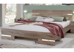 AMÁLIE 291, postel 140x200cm, dub bahenní