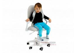 ANAIS, rostoucí židle, látka šedá