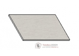 Kuchyňská pracovní deska 40 cm aluminium mat