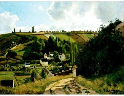 VCP-340 Camille Pissarro - Jalais Hill v Pontoise
