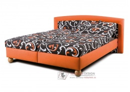 MAXRELAX, čalouněná postel 160x200cm