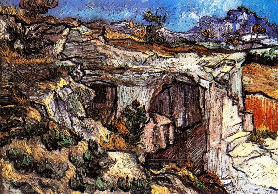 VR2-120 Vincent van Gogh - Vstup do lomu