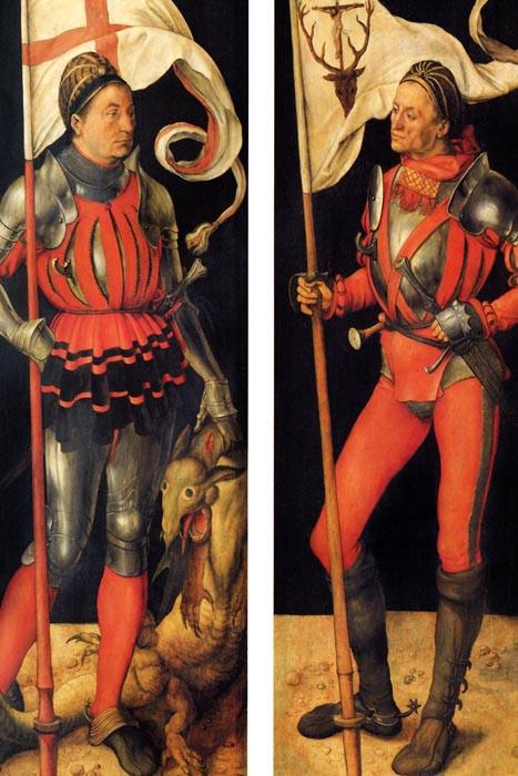 R12-103 Albrecht Dürer - Paumgartnerův oltář