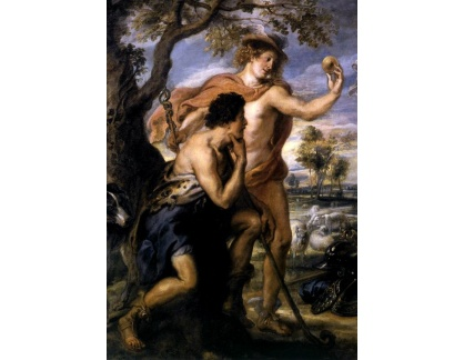 VRU85 Peter Paul Rubens - Parisuv soud, detail