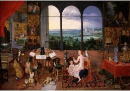 BRG-134 Jan Brueghel a Peter Paul Rubens - Alegorie sluchu