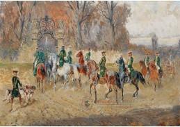 DDSO-1485 Alexander von Bensa - Návrat domů po úspěšném lovu