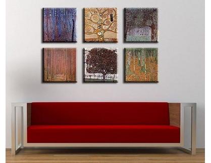 Obrazový set 6D Gustav Klimt 3