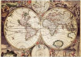 Obraz mapa 7091