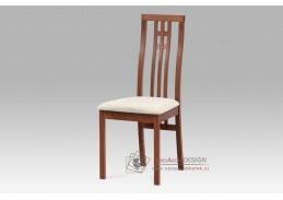 BC-2482 TR3, jídelní židle, třešeň / látka krémová