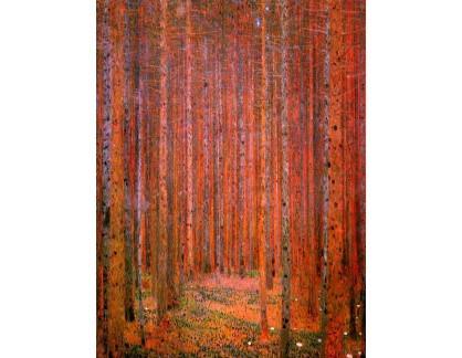VR3-97 Gustav Klimt - Tannenwald
