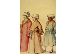 R12-101 Albrecht Dürer - Turecké kroje