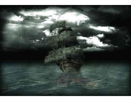 VL122 Neznámý autor - Pirátská loď