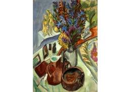 D-7828 Ernst Ludwig Kirchner - Zátiší se džbánem a africkou miskou