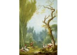 D-7913 Jean Honoré Fragonard - Hra na koně a jezdce