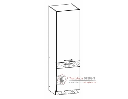 MODENA, potravinová skříň MD22/D60C, výběr provedení
