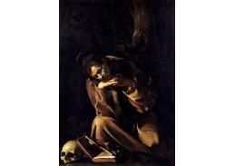 VCAR 37 Caravaggio - Meditace svatého Františka
