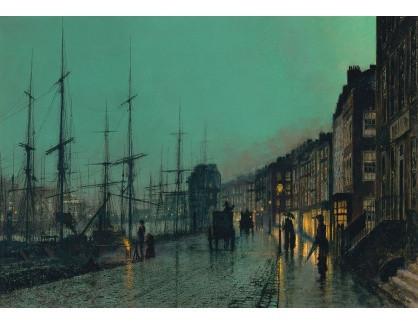 VANG298 John Atkinson Grimshaw - Námořnictvo v Clyde