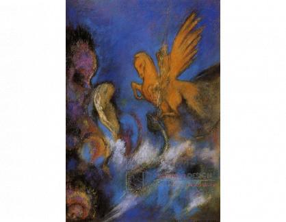 VOR 142 Odilon Redon - Roger a Angelika