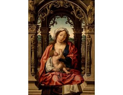 VH715 Jan Gossaert - Panna Marie s Ježíškem